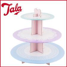 3 Tier Cupcake Stand TALA Cardboard Birthday Party Cake Decor New Holder Display