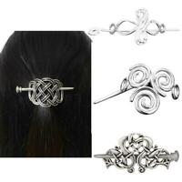 Frauen große Celtics Knoten Crown Haarnadeln Haarspangen Stick Zubehör Foli R7S5