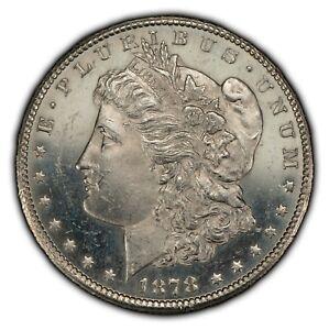1878-CC $1 Morgan Silver Dollar - Strong Die Polish - Looks PL/DPL - SKU-B1398