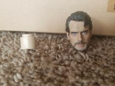 "1/6 Scale Superman Henry Cavill Carving Head Sculpt Model F 12"" (No Male Body)"