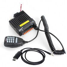 QYT KT-8900R VHF/UHF 25W FM Car Radio Transceiver Walkie +USB Programming Cable
