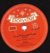 Freddy Quinn singt 1955 : So geht das jede Nacht + Rosalie