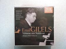 Emil Gilels: Virtuoso mit Noblesse - 10 CD Box Set - Membran - NEW