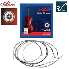 Alice Cello String Set Strings A803 Steel Core Alloy Wound A D G C cello string