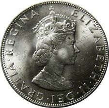 Bermuda Crown, 1964 Silver Coin
