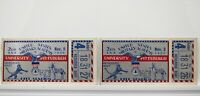 US Military Academy vs. Pittsburgh 1935 College Football Ticket Stubs RARE V61