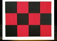 Soundproofing Acoustic Foam Studio Wall Panel Wedge Tiles 1 inch X 12 inch X 12