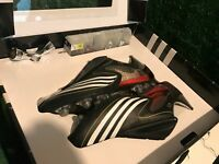 BNIB Adidas +F50.8 Tunit Black  Climacool Soccer Cleats size US 9,UK 8 42,5