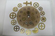 21~Brass & Steel Clock Parts~Face~Gears~Brackets ~Steampunk*Crafts*Alter Art