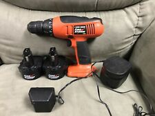 Black And Decker 12V Cordless Drill W/2 Batteries.