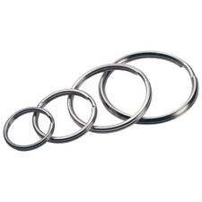 HILLMAN  Tempered Steel  Split Rings/Cable Rings  Key Ring  Assorted