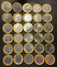 Old Dominican Republic Coin Lot - 30 EXCELLENT BI-METAL COINS - Lot #823