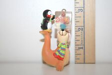 Carlton Cards Ornament - Ice Pals - Seal and Penguin - Chisel and Balls - 2004