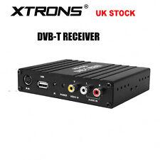 XTRONS Dual Antenna Car Vehicle DVB-T Freeview Digital TV Receiver Box Tuner UK