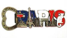 Paris Tourist Travel Souvenir 3D Metal Bottle Opener Fridge Magnet Gift