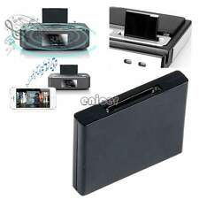 Bluetooth Music Receiver Audio Adapter for iPod iPhone 30Pin Dock Speaker ENE