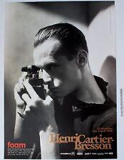 ORIGINAL HENRI CARTIER-BRESSON 2006 RETROSPECTIVE GALLERY POSTER HOLLAND