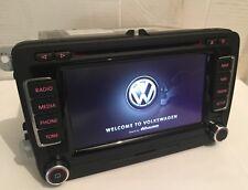 VW RNS510 Navigationsgerät Navi 1T0035680F LED Kartenmaterial V16 2019 Golf GTI