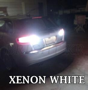 Fits Audi A3 8P 8PA XENON BRIGHT WHITE REVERSE LED LIGHT BULBS- ERROR FREE