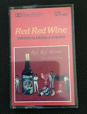 RED RED WINE - TREVOR GLEESON & CHIODO - AUSTRALIAN RELEASE CASSETTE