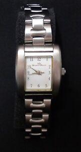 Yonger et Bresson Montre femme bracelet en acier réglable - Boite + Notice