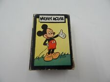 "Russell Card Games ""Mickey Mouse"" Disney Vintage / Antique"