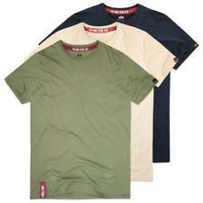 Magliette da uomo verde Alpha