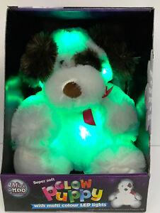 Mini Moo Super Soft Glow Teddy or Puppy