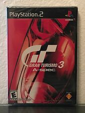 GRAN TURISMO 3 : A-SPEC / PS2 / U.S. Promotional Copy - FACTORY SEALED