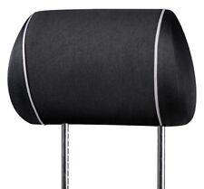 Serie Modulo Doppelpack 2 Polyester Universal Kopfstützenbezüge schwarz