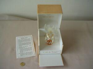 Vintage Nina Ricci L' Air du Temps Lalique Dove Perfume Bottle With Box