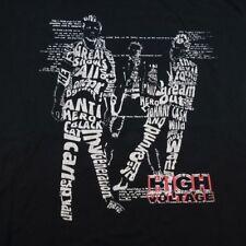 NORDEEN GANGS ROCKERS HIGH VOLTAGE TEE T SHIRT Sz Mens XXL Punk Rock