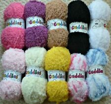 King Cole Baby 12 Ply Weight Crocheting & Knitting Yarns