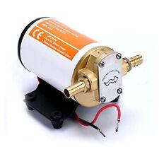 12V Scavenge Impellor Gear Electric Pump for Diesel Fuel Scavenge Oil Transfer