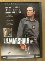 DVD movie: U.S. Marshals 1998 Starring: tommy lee jones, wesley snipes