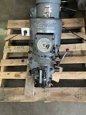 Rebuilt Bridgeport 2j Milling Head 1 12 Hp Motor