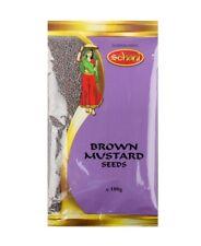 marron senfsamen moutarde SEEDS 100 g Moutarde graines India marron épice