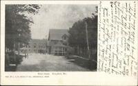 Kingfield ME Main St. c1910 Postcard - Used #2