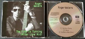 ROGER WATERS THE TIDE IS TURNING (AFTER LIVE AID) CD SINGLE EMI (1987) ENGLAND