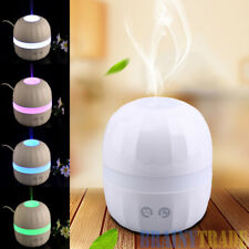 LED Essential Oil Diffuser  Ultrasonic Aromatherapy Humidifier Silence Cool Mist