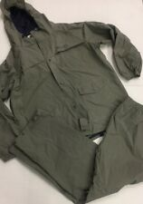 Columbia Men's Gray PVC Waterproof Rain Suit Vinyl Pants & Jacket Polyvinyl XL