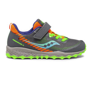 Saucony Boys S-Peregrine 11 Shield A/C Trail Running Shoes Trainers Sneakers
