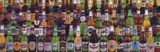Beers Of The World Beer Bottles Poster 36x12