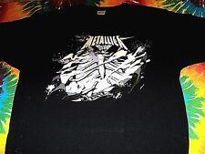 * METALLICA CLUB * BRAND NEW T Shirt XL Authentic  Lars James Kirk Robert