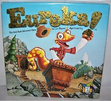 Gamewright 2002 Eureka! The Gold Rush Adventure Game Complete