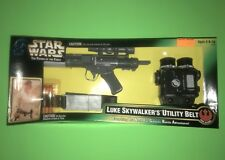 1996 Star Wars Potf Luke Skywalker's Utility Belt w/ Dart Gun Set! New Sealed!