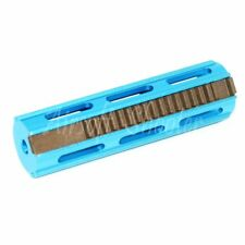 Airsoft Upgrade Gear Parts CNC 18 Teeth Piston (19 Teeth Type) for R85/SR25 Blue