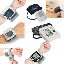 Automatic Digital Upper Arm Wrist Blood Pressure Monitoring LCD Heart Rate Meter
