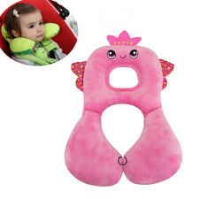 Adjustable Baby Car Seat Cushion, Soft Travel Head and Neck Support for Bbay