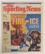 1992 Sporting News Michael Jordan & Wayne Gretzky Fire and Ice US#697